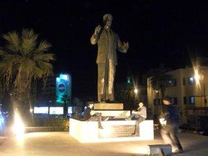 The combined team of Hafez Al-Assad and Pepsi watch over Lattakia