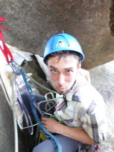 Johannes. German crusher. Project onsighter. Occasional belay slave.