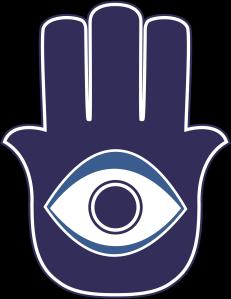 "The ""khamsa"" or Hand of Fatima"