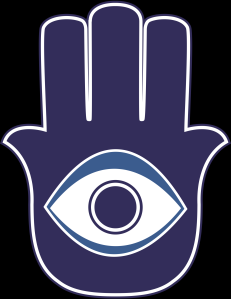 "The ""khamsa"" or Hand of Fatima"