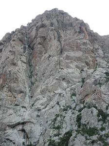 The West Face of Girhimitin (~400m)