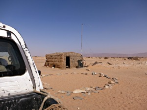 A Typical Gendarmerie Outpost in Mauritania