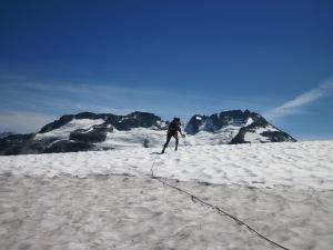 Probing for crevasses