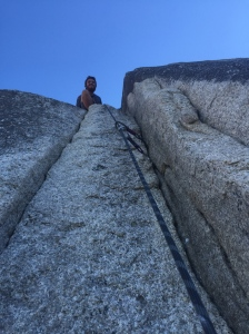 Top of the Squamish Buttress