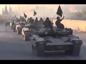 ISIS cavalry on the move