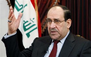 "Ex-Pres of Iraq Nouri Al-Maliki. A modern day stand-in for Caliph Mustasim of Baghdad? (note: ""malik"" means ""king"" in Arabic)."